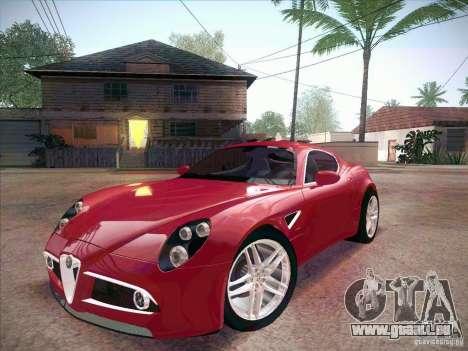 Alfa Romeo 8C Competizione v.2.0 pour GTA San Andreas
