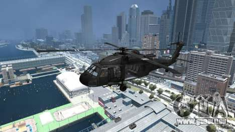 Sikorsky UH-60 Black Hawk pour GTA 4