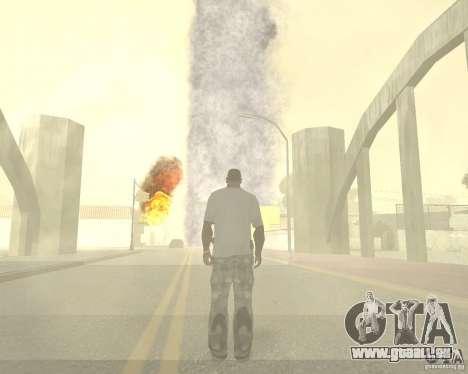 Tornade pour GTA San Andreas septième écran