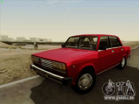 LADA 2105 RIVA (exportation) 2.0 pour GTA San Andreas sur la vue arrière gauche