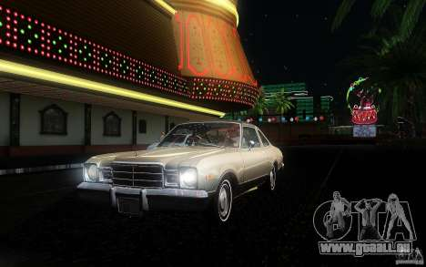 Plymouth Volare Coupe 1977 für GTA San Andreas obere Ansicht
