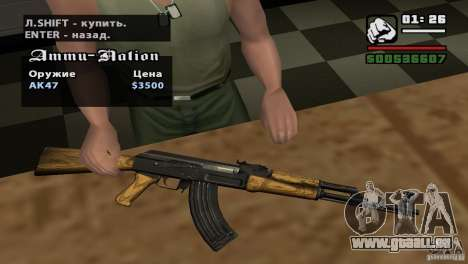 Montage HD pour GTA San Andreas huitième écran