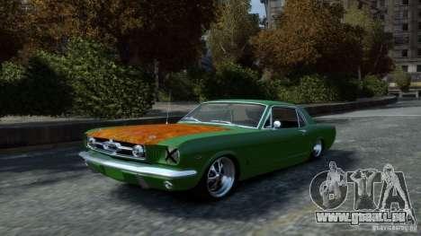Ford Mustang GT MkI 1965 für GTA 4