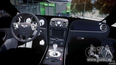 Bentley Continental SS 2010 Gumball 3000 [EPM] pour GTA 4 est un côté