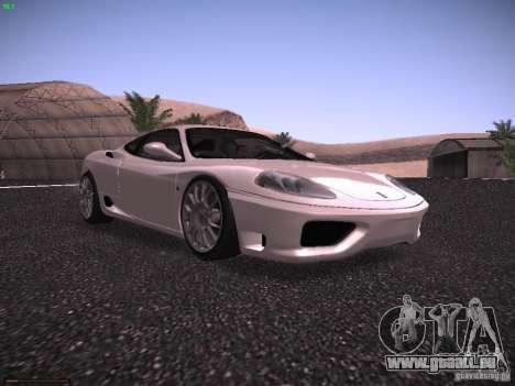 Ferrari 360 Modena pour GTA San Andreas laissé vue