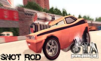 Snot Rod für GTA San Andreas