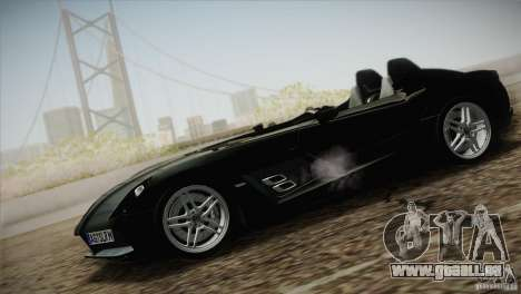 Mercedes-Benz SLR Stirling Moss 2005 pour GTA San Andreas vue de droite