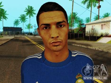 Cristiano Ronaldo v2 pour GTA San Andreas sixième écran