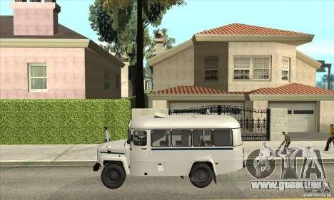 KAVZ-39766 für GTA San Andreas linke Ansicht