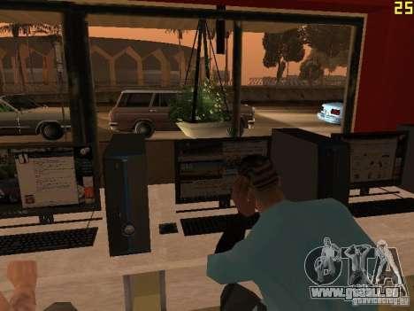 Ganton Cyber Cafe Mod v1.0 für GTA San Andreas siebten Screenshot
