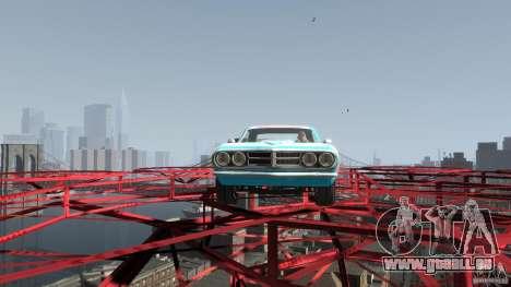 Afterburner Flatout UC für GTA 4 Rückansicht