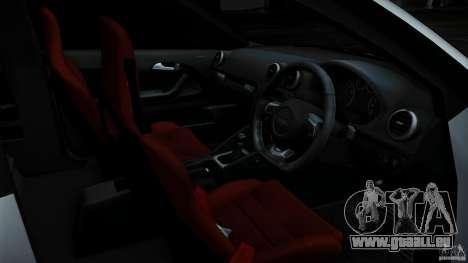 Audi S3 Euro pour GTA San Andreas vue de dessous