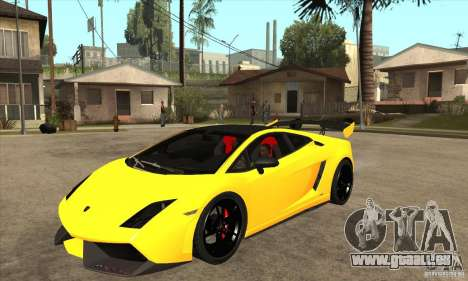 Lamborghini Gallardo LP570 Super Trofeo Stradale pour GTA San Andreas
