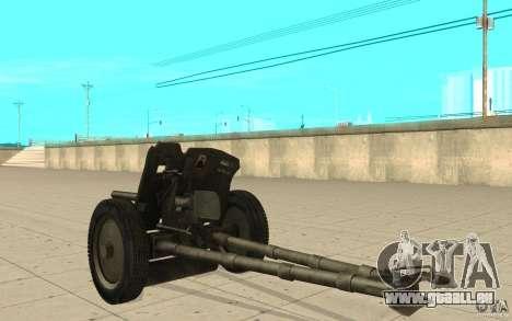 Pistolet de régiment, 53-45 mm pour GTA San Andreas sur la vue arrière gauche