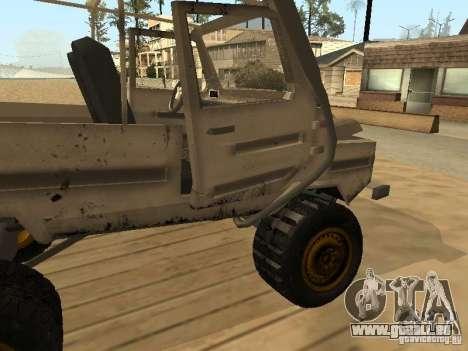 LuAZ 969 Offroad für GTA San Andreas Innen