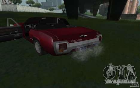HD étalon de GTA3 pour GTA San Andreas sur la vue arrière gauche