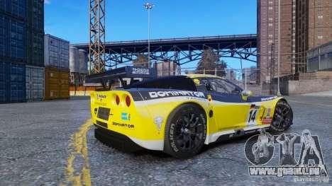 Chevrolet Corvette C6R GT1 pour GTA 4 est une gauche
