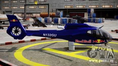 Eurocopter EC130 B4 Red Bull für GTA 4 Innenansicht