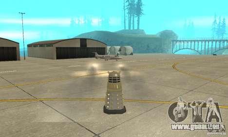 Dalek Doctor Who pour GTA San Andreas vue arrière