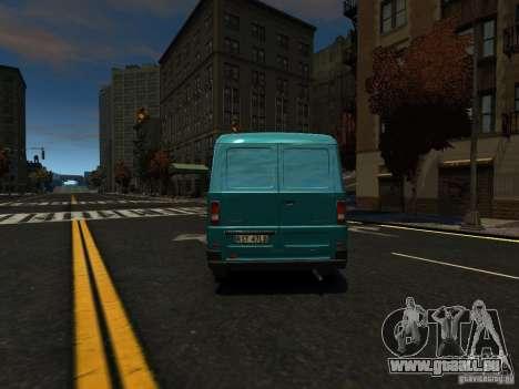 Daewoo Lublin 3 2000 pour GTA 4 Vue arrière