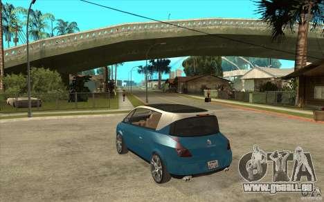 Renault Avantime Mild Tuning pour GTA San Andreas sur la vue arrière gauche