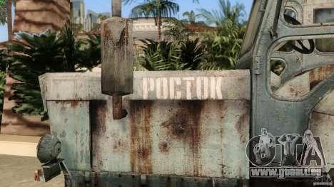 Traktor t-40 für GTA Vice City obere Ansicht