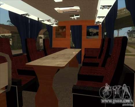 IKARUS 255 Tv pour GTA San Andreas vue de droite