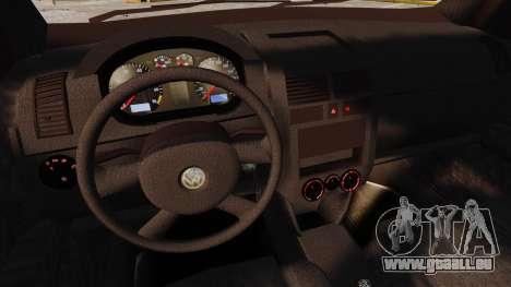 Volkswagen Polo Edit für GTA 4 obere Ansicht