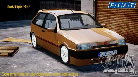 Fiat Tipo 1990 pour GTA 4