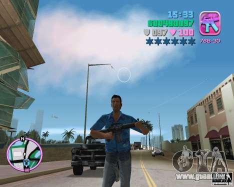 La peau de la version bêta pour GTA Vice City