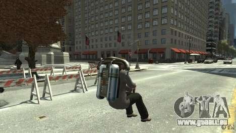 Jetpack für GTA 4 rechte Ansicht