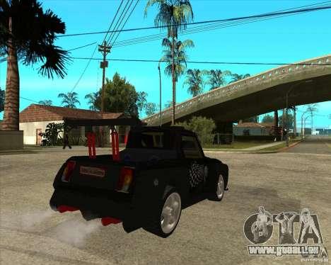 VAZ 2104 volk für GTA San Andreas zurück linke Ansicht