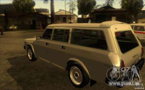 GAZ Wolga 311021 für GTA San Andreas zurück linke Ansicht