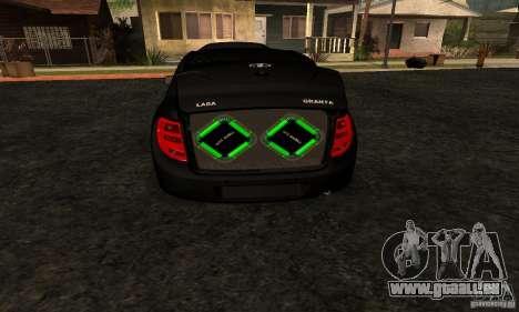 Lada Granta Dag Style pour GTA San Andreas vue de droite