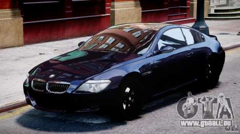 BMW M6 Orange-Black Bullet für GTA 4 linke Ansicht