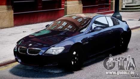 BMW M6 Orange-Black Bullet für GTA 4 linke Ansicht