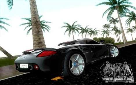 Porsche Carrera GT für GTA Vice City rechten Ansicht
