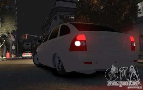 VAZ Lada Priora 2172 pour GTA 4 Vue arrière de la gauche