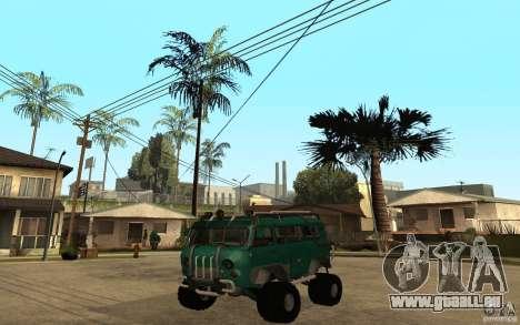 Pain UAZ dur hors route pour GTA San Andreas