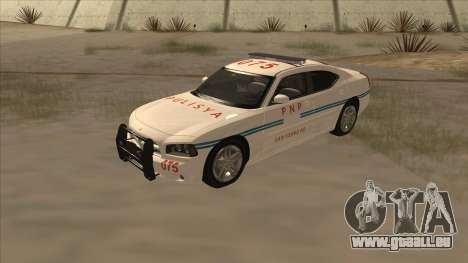 Dodge Charger PNP SAN FIERRO für GTA San Andreas