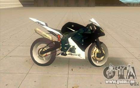 Yamaha Copbike Beta pour GTA San Andreas laissé vue