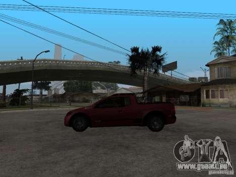 Volkswagen Saveiro Trooper CE pour GTA San Andreas laissé vue