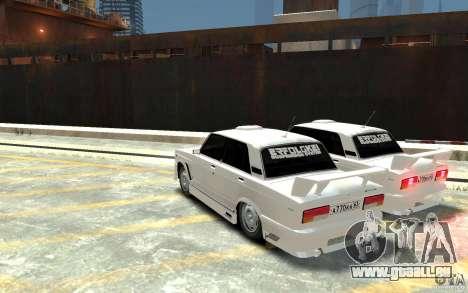 ВАЗ 21074 pour GTA 4 Vue arrière de la gauche