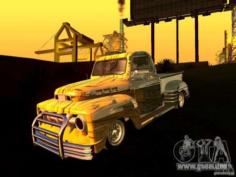 Ford Pick Up Custom 1951 LowRider für GTA San Andreas rechten Ansicht