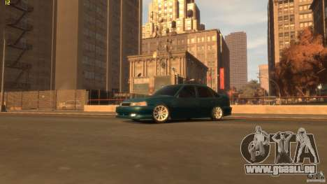 Daewoo Nexia Tuning pour GTA 4 Vue arrière de la gauche