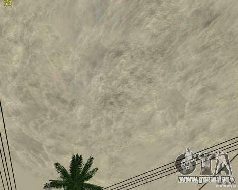 Neue Wolken für GTA San Andreas achten Screenshot