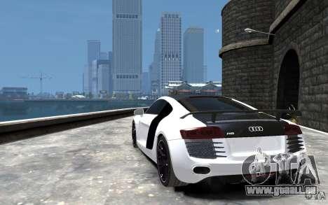 Audi R8 2008 Beta pour GTA 4 Vue arrière de la gauche