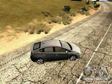 Toyota Prius Hybrid 2011 für GTA San Andreas linke Ansicht