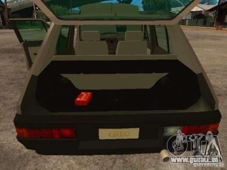 Fiat Ritmo für GTA San Andreas Seitenansicht