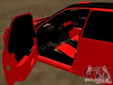 VAZ-2172 Sport pour GTA San Andreas laissé vue